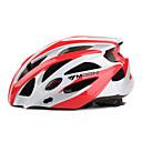 MOON Biciklizam Red + Silver PC + EPS 25 OTVORI MTB zaštitnu kacigu