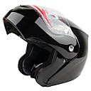 936-r4 vysoce kvalitní motocyklové závody celoobličejový otevřená přilba (černá)