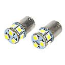 BA15S T18 1.6W 12VDC 110LM 9-LED bijelo svjetlo Auto žarulje