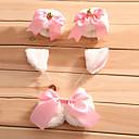 Lolita doplňky Sweet Lolita Princeznovské Cosplay Lolita šaty Bílá / Růžová Mašle Náramek / Mašle / Doplňky do vlasů Pro DámskéSatén /