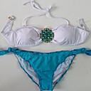 IKINI Dámské Sexy Slunečnice Diamonade Bikini (modrá)