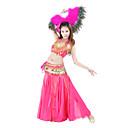 Dancewear Ženska poliester Belly Dance Long Riba rep Suknja (više boja)