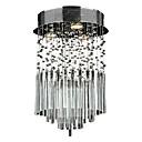 Max 50W Flush Mount ,  Modern/Comtemporary Electroplated svojstvo for Crystal Metal Living Room / Bedroom / Dining Room