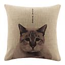 Moderna Melankolija Mačka Pattern Dekorativni jastuk Cover