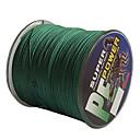 500/550 jardi PE Braided Line / Dyneema Zsinór Zelen 30 lb / 40LB 0.26,0.28 mm Za Morski ribolov / Slatkovodno ribarstvo