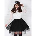 Crna čipka Prilično Lolita Princess Kawaii muslina Suknja Lovely
