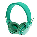 MRH-8809 3,5 mm stereo skládací On-Ear sluchátka s funkcí TF / FM (zelená)
