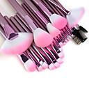 Set profesionalnih četkica za šminkanje (22 komada), ružičasta
