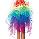 Cosplay Nošnje / Kostim za party Cosplay Festival/Praznik Halloween kostime Srebrna Duga Suknja Halloween / Božić / Karneval / New Year