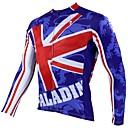 PALADIN® Biciklistička majica Muškarci Dugi rukav Bicikl Prozračnost / Ugrijati / Quick dry / Ultraviolet ResistantBiciklistička majica /