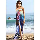 Ženska cvjetni print šifon Plaža Cover-up