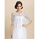 Wedding  Wraps Capelets Lace Ivory Party/Evening / Casual Lace-up