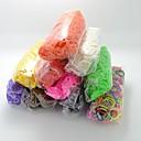 DIY twistz silikonska bandz gumene bendova Narukvice duginih boja Loom stil za djecu s 600pcs bendova i 24 S-isječaka