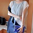 Jinyi Nový styl korejské Elegantní šifónové šaty