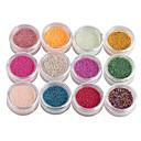 12-Color Mali Nail Ball perle Nail Art Decoraitons