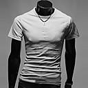 Mark Muška Okrugli vrat cvjetni print kratki rukav T-Shirt