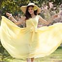 Ženska Deep V Vchiffon rukava haljina