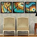 Květiny a rostliny Kanvas v rámu / Set v rámu Wall Art,PVC Černá Bez pasparty s rámem Wall Art