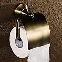 Antique Brass Nástěnný držák toaletního papíru, 6 palce x 6 palců