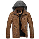 Muška Motocikli koža Moda Euramerican Style kožnu jaknu