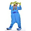 Kigurumi Pidžama Monster Hula-hopke/Onesie Festival/Praznik Zivotinja Odjeća Za Apavanje Halloween Plav Kolaž Flis Kigurumi Za Uniseks