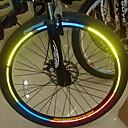 YELVQI Bike Bicycle Reflektirajuća Naljepnice