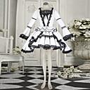ワンピース/ドレス クラシック/伝統的なロリータ ロリータ コスプレ ロリータドレス レース 長袖 ショート丈 ドレス のために コットン