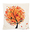 Država Fall Tree Pamuk / Posteljina Dekorativni jastuk Cover