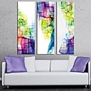 Rastegnut Canvas Art Gorgeous Color Set od 3