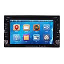 """6.2 """"2 DIN LCD dotykový displej v palubní desce auta DVD přehrávač s 3G, GPS, Bluetooth, iPod, rds, ATV"""