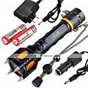 Osvětlení LED svítilny / Svítilny do ruky LED 2400 Lumenů 5 Režim Cree XM-L2 18650Voděodolný / Dobíjecí / Odolný proti nárazům / Strike