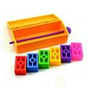 魔法の虹予言プラスチックれんがクローズアップ魔法の小道具