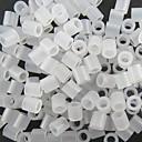 cca 500pcs 5mm jasno transparentni perler kuglice Fuse kuglice Hama kuglice DIY slagalica Eva materijalnu pronaći cache datoteke za djecu