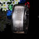 ブレスレットデザイン 超現代的 LED腕時計 - ブラック