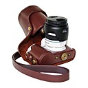 pajiatu® PU kůže olej kůže kamera ochranné pouzdro pro Samsung nx300 18-55mm objektivem nebo předseda objektivu