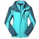 取り外し可能なフリースジャケットの裏地付き屋外での女性の3イン1通気性ウインドブレーカージャケット