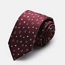 červená vzor kravata