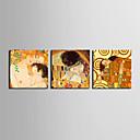 Protezala Canvas Art Majka i sin, a poljubac je Klimta Set od 3