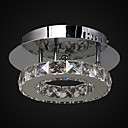 6 Flush Mount ,  Modern/Comtemporary Chrome svojstvo for Crystal LED Metal Living Room Bedroom Ulazak Outdoors