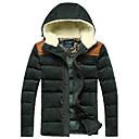Men's Hooded Coat Jacket