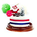 Božićni dar santa kolač oblik ručnika (100% pamuk, 30 * 30cm)