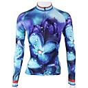PALADIN® Biciklistička majica Žene Dugi rukav Bicikl Prozračnost / Quick dry Biciklistička majica / Majice 100% poliesterPriroda i
