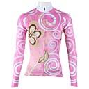 PALADIN® Biciklistička majica Žene Dugi rukav Bicikl Prozračnost / Quick dry Biciklistička majica / Majice 100% poliesterCvjetni /