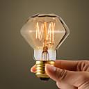 40Wレトロ産業スタイル白熱電球、ダイヤモンド形状