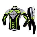 FJQXZ® Biciklistička majica s tajicama Muškarci Dugi rukav Bicikl Prozračnost / Quick dry / Ultraviolet Resistant / Pad 3DMajica + tajice