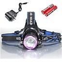 Rasvjeta Svjetiljke za glavu / Svjetla za bicikle LED 2000 Lumena 3 Način Cree XM-L T6 18650 / 18350Vodootporno / Može se puniti /