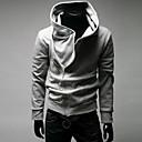 Ležérní Kapuce - Dlouhé rukávy - MEN - Sweats & Hoodies ( Směs bavlny )