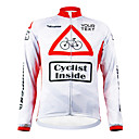 KOOPLUS® Biciklistička majica Žene / Muškarci / Uniseks Dugi rukav Bicikl Vjetronepropusnost / Vodootporni patent / Podesan za nošenje