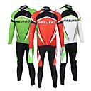 Arsuxeo® Biciklistička majica s tajicama Uniseks Dugi rukav Bicikl Prozračnost / Quick dry / Anatomski dizajn / Povratak džep