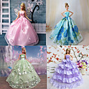 Princeza Haljine Za Barbie lutka Ljubičasta / Plava Haljine Za Djevojka je Doll igračkama